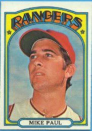 1972 Topps Baseball Cards      577     Mike Paul